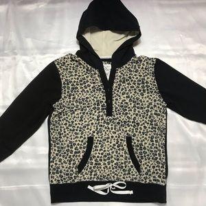 Vintage Cheetah Print Hoodie